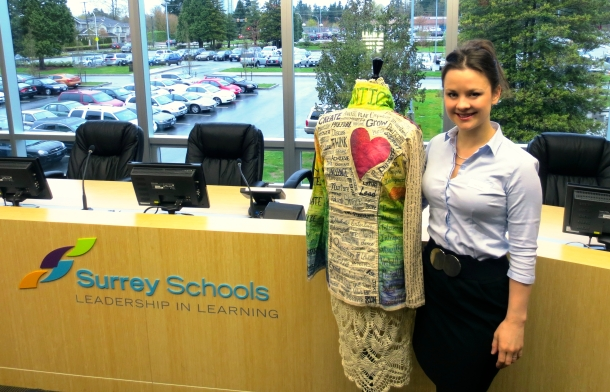 Teaching Coat at Surrey Schools